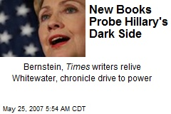 New Books Probe Hillary's Dark Side