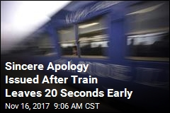 Japan Train Company Is Very Sorry for Leaving 20 Seconds Early