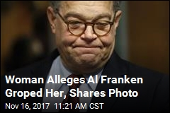 Woman Alleges Al Franken Groped Her, Shares Photo