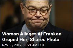 Woman Alleges Al Franken Groped Her, Shares Photo