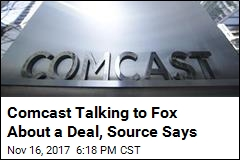 Comcast Talking to Fox About a Deal, Source Says