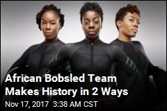 Nigerian Bobsledders Score 2 Major Firsts