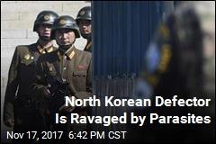 North Korean Defector's Hidden Problem: Parasites