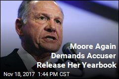 Moore Again Demands Accuser Release Her Yearbook