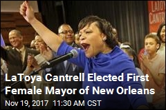 New Orleans Elects Its First Female Mayor