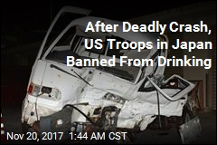 US Troops in Japan Banned From Drinking