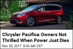 Owners of Chrysler Minivan Say It Suddenly Shuts Off