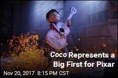 Coco Represents a Big First for Pixar