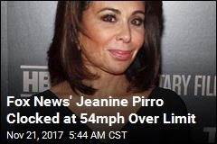 Fox News' Jeanine Pirro Caught Driving 119mph