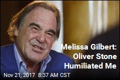 Melissa Gilbert Accuses Oliver Stone of 'Dirty' Scene