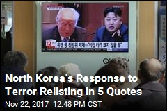 North Korea's Response to Terror Relisting in 5 Quotes