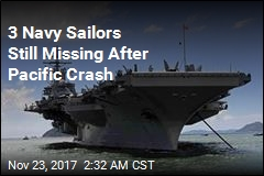 8 Navy Sailors Rescued, 3 Missing After Pacific Crash