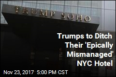 Trumps to Get Out of Luxury NYC Hotel Bearing Their Name
