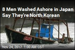 8 Men Washed Ashore in Japan Say They Are North Korean