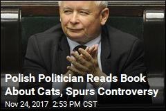 Polish Politician Reads Book About Cats, Spurs Controversy