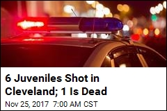 6 Juveniles Shot in Cleveland; 1 Is Dead