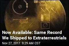 You Can Order Same Record We Sent to Aliens