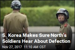 South Korea Blasts Defector News Over Loudspeakers