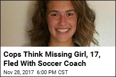 Missing Teen May Have Fled With Soccer Coach