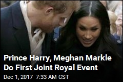 Prince Harry, Meghan Markle Do First Joint Royal Event