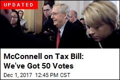 GOP Senator: We've Got the Votes to Pass Tax Bill
