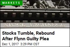 Stocks Tumble, Rebound After Flynn Guilty Plea