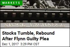 Stocks Tumble, Rebound After Flynn Guilty Plea