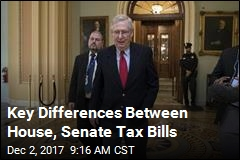 Key Differences Between House, Senate Tax Bills