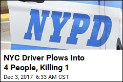 NYC Driver Plows Into 4 People, Killing 1