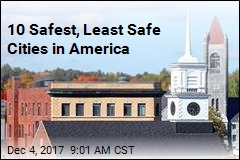 10 Safest, Least Safe Cities in America