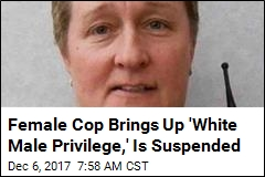 Indiana Cop Suspended After 'White Male Privilege' Comment