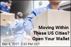 Moving Within These US Cities? Open Your Wallet
