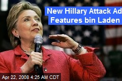New Hillary Attack Ad Features bin Laden