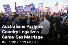 Australia Legalizes Same-Sex Marriage