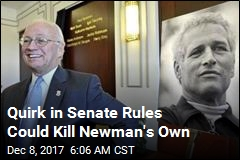 Quirk in Senate Rules Could Kill Newman's Own