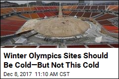 Winter Olympics Sites Should Be Cold—But Not This Cold
