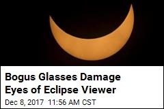Woman Suffers Eye Damage From Bogus Eclipse Glasses