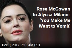 Rose McGowan Goes After Former Co-Star Milano