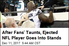 Fans Taunt Ejected NFL Player, Things Get Ugly