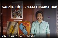 Saudis Lift 35-Year Cinema Ban