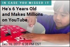 He's 6 Years Old and Makes Millions on YouTube