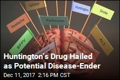Huntington's Drug Hailed as Potential Disease-Ender