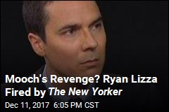 Mooch's Revenge? Ryan Lizza Fired by The New Yorker