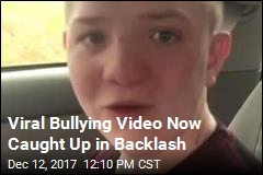 After Sweet Response to Bullying Video, a Backlash
