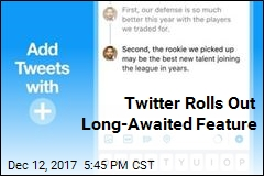 Twitter Rolls Out Long-Awaited Feature