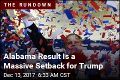 Alabama Result a 'Stinging Defeat' for Trump, Bannon