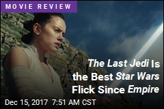 The Last Jedi Is the Best Star Wars Flick Since Empire
