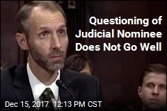 Questioning of Judicial Nominee Does Not Go Well