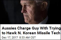 Aussies Charge Guy With Trying to Hawk N. Korean Missile Tech