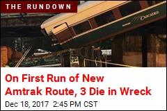Amtrak Train Derails; Cars Spill Onto Highway Near Seattle